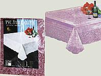 Скатерть на стол PVC Table Cloch 110x140см бордовая