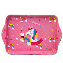 """Піднос """"Happy unicorn"""""""