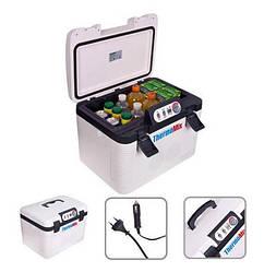 Холодильник-Автохолодильник автомобільний Vitol ThermoMIX BL-219-19L або Підігрів 2в1, 19л 12/24/220V 60W