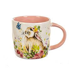 Чашка Кролик з метеликом (400 мл)