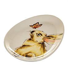 Тарелка Кролик и бабочка