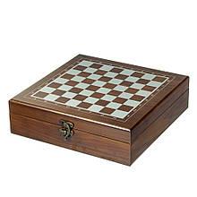 Игровой набор 3 в 1 (шахматы, карты, покер)