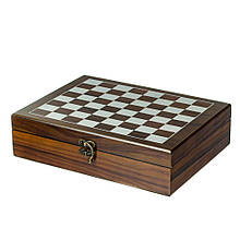 Игровой набор 2 в 1 (шахматы, домино)