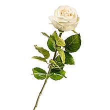 """Квітка штучна """"біла Троянда"""""""