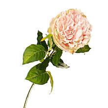 """Штучний квітка """"оксамитова Троянда ніжно-рожева"""""""