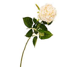 """Штучний квітка """"оксамитова Троянда білосніжна"""""""