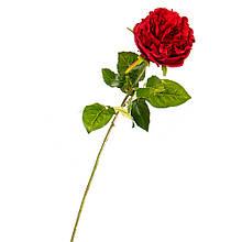 """Штучний квітка """"оксамитова Троянда яскраво-червона"""""""