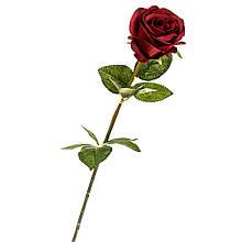 """Штучний квітка """"бордова Троянда"""""""