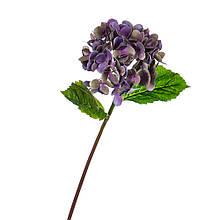 """Штучний квітка """"Гортензія Papillon"""" синя"""