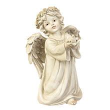 Ангел світиться з пташкою 16*11.5*25.5