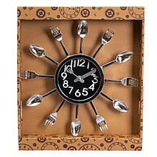 """Часы """"Ложки и вилки"""""""