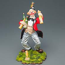 "Статуетка ""Клоун з шампанським"" (15 см)"