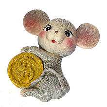 """Магніт """"Мишка з монетою"""""""