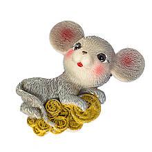 """Магнит """"Мышка с монетами"""""""