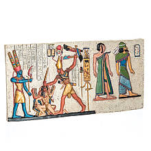 """Фреска """" Фараон с луком"""" ( 13 см)"""