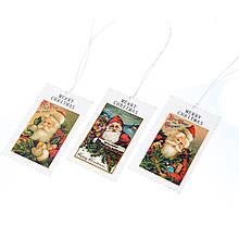"""Декоративні бирки """"Щасливого Різдва"""""""