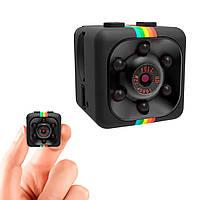 Міні-камера SQ11 Mini Sports Full HD DV 1080p прихований відеореєстратор для дому з доставкою, фото 1