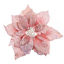 Квітка сніговий рожевий