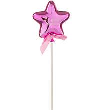 Топпер Шарик  в форме звезды  фуксия