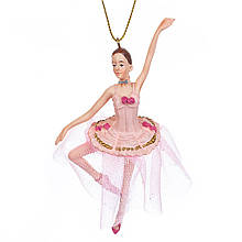 """Підвіска """"Балерина з трояндами"""""""
