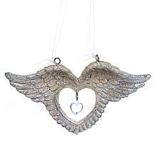 """Підвіска """"Серце з крилами"""""""