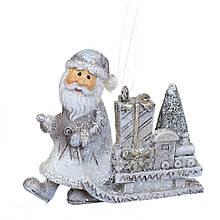 """Підвіска """"Сани з Дідом Морозом"""""""