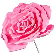 Цветок для фотозоны розовый (средний)