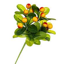 Фруктовая ветка с желтыми ягодами