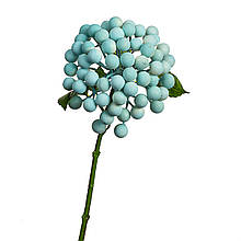 Штучна гілка з ягодами, блакитна