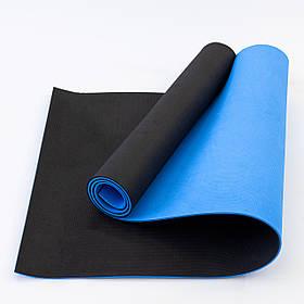 Коврик для йоги и фитнеса EVA (йога мат, каремат спортивный) OSPORT ECO Friendly Pro 6мм (OF-0097)