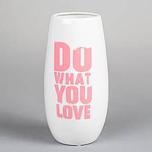 """Керамічна ваза """"Мрії"""" 20 см"""