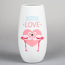 "Керамічна ваза ""Неземна любов"" 20 см"