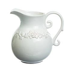 """Керамічна ваза """"Літня тераса"""", 18 см."""