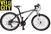 Велосипед горный черно-белый Mascotte Team 26 md , фото 1