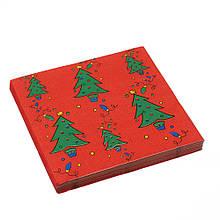 """Бумажные салфетки """"Новогоднее настроение"""""""
