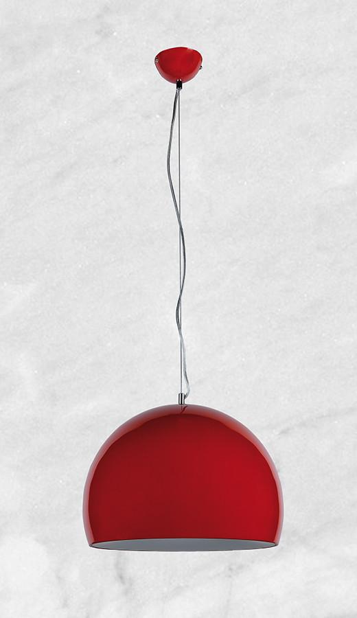 Люстра в стиле модерн 20-LK80052-3 (красный)