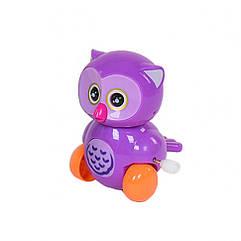 """Заводная игрушка """"Сова"""" 6621 (Фиолетовый)"""