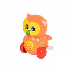 """Заводная игрушка """"Сова"""" 6621 (Оранжевый)"""