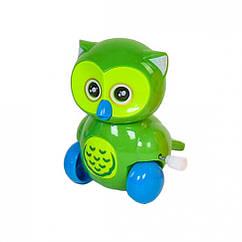 """Заводная игрушка """"Сова"""" 6621 (Зелёный)"""