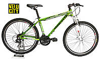 Велосипед горный Mascotte Team 26 v-brake зеленый, фото 1