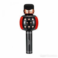 Bluetooth-мікрофон для караоке WSTER M137 (WS-2911) (Червоний)