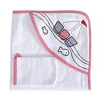 Уголок для купания + рукавичка Махра