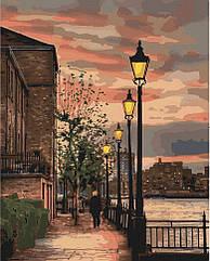 """Картина за номерами. Art Craft """"Набережна Темзи. Англія"""" 38*50 см 10546-AC"""