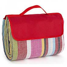 Складной коврик-портфель для пикника и пляжа Кемпинг HB-10 Red влагоустойчивый полиэстер 600