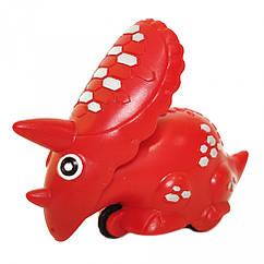 Заводная игрушка Динозавр 9829  9 см (Красный)