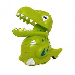Заводная игрушка Динозавр 9829  9 см (Салатовый)