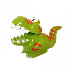 Заводная игрушка Динозавр 9829  9 см (Тёмно-Зелёный)