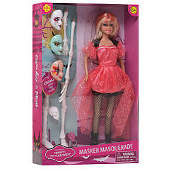 Кукла DEFA 8397-BF Маскарад (Красное платье)