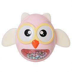 Іграшка-неваляшка G-A027 сова (Рожевий)