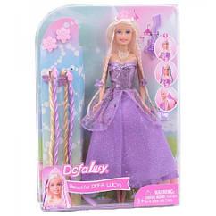 Кукла DEFA 8182  29см. (Фиолетовый)